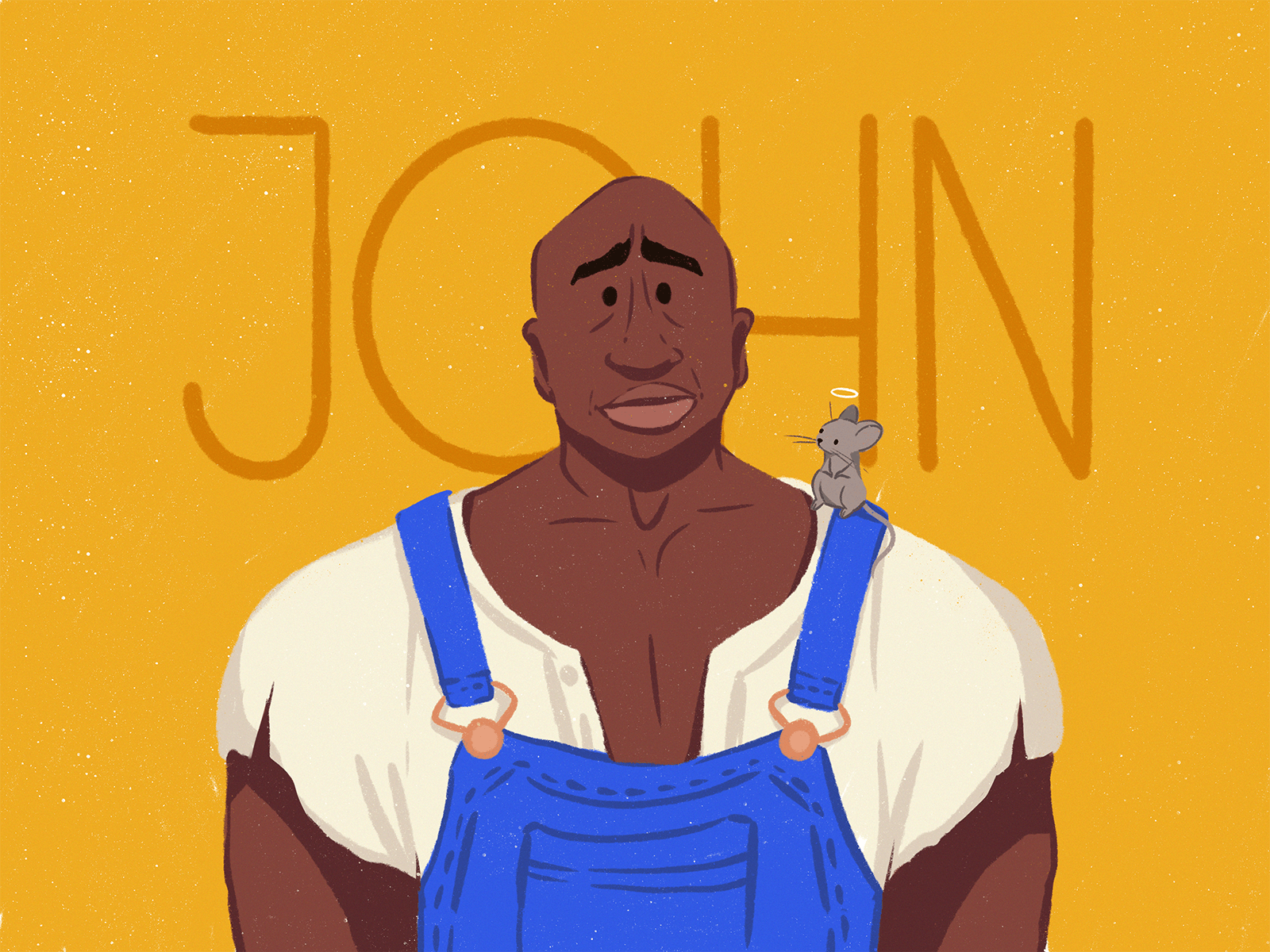 john coffey green mile illustration