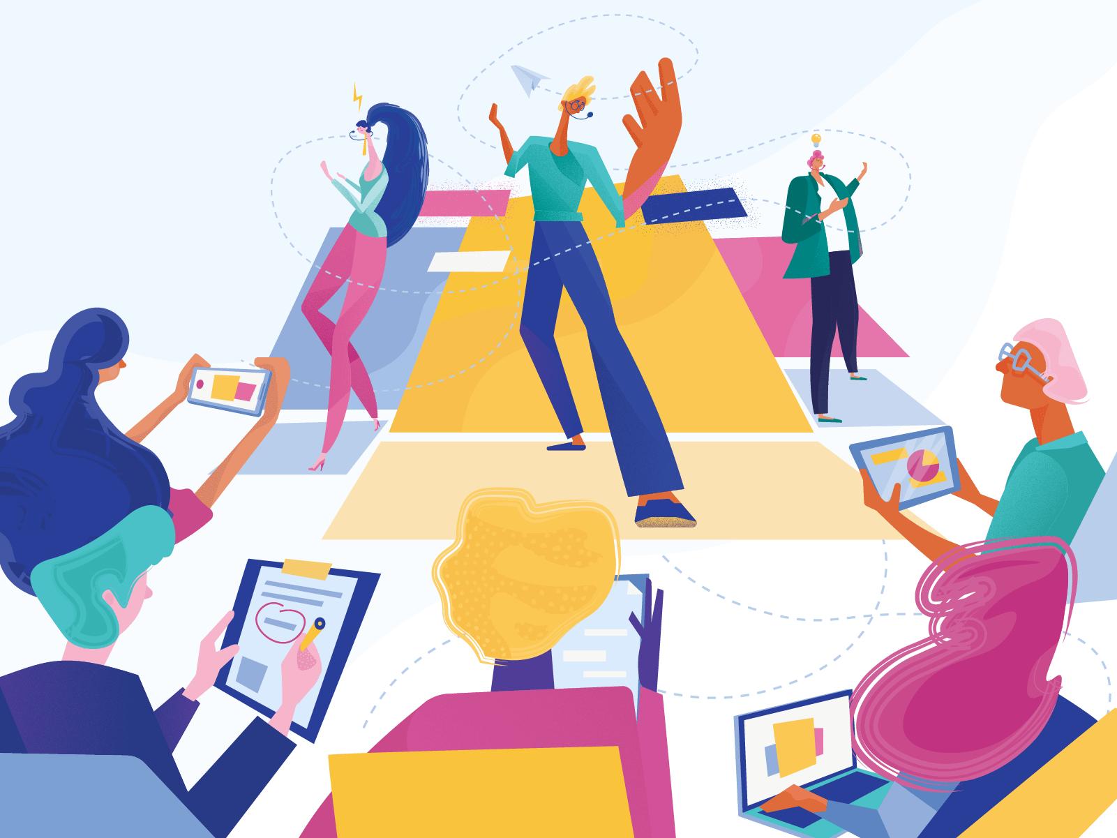 lecture illustration design