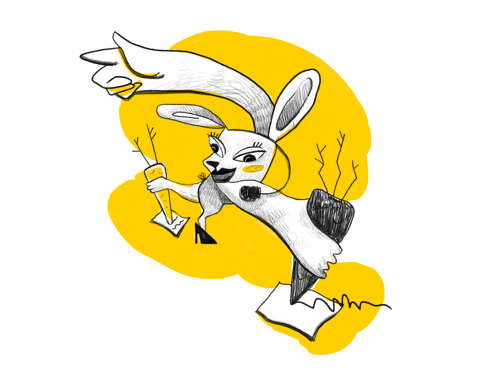 quisine character design rabbit