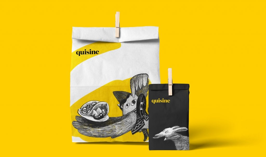 quisine packaging design