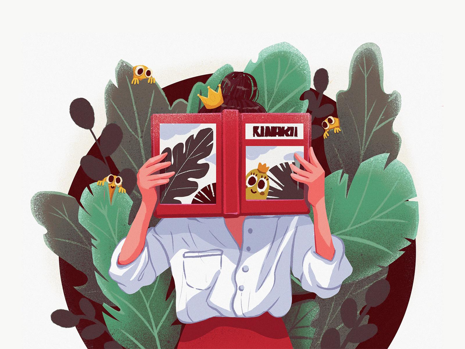 storytelling in UX design illustration