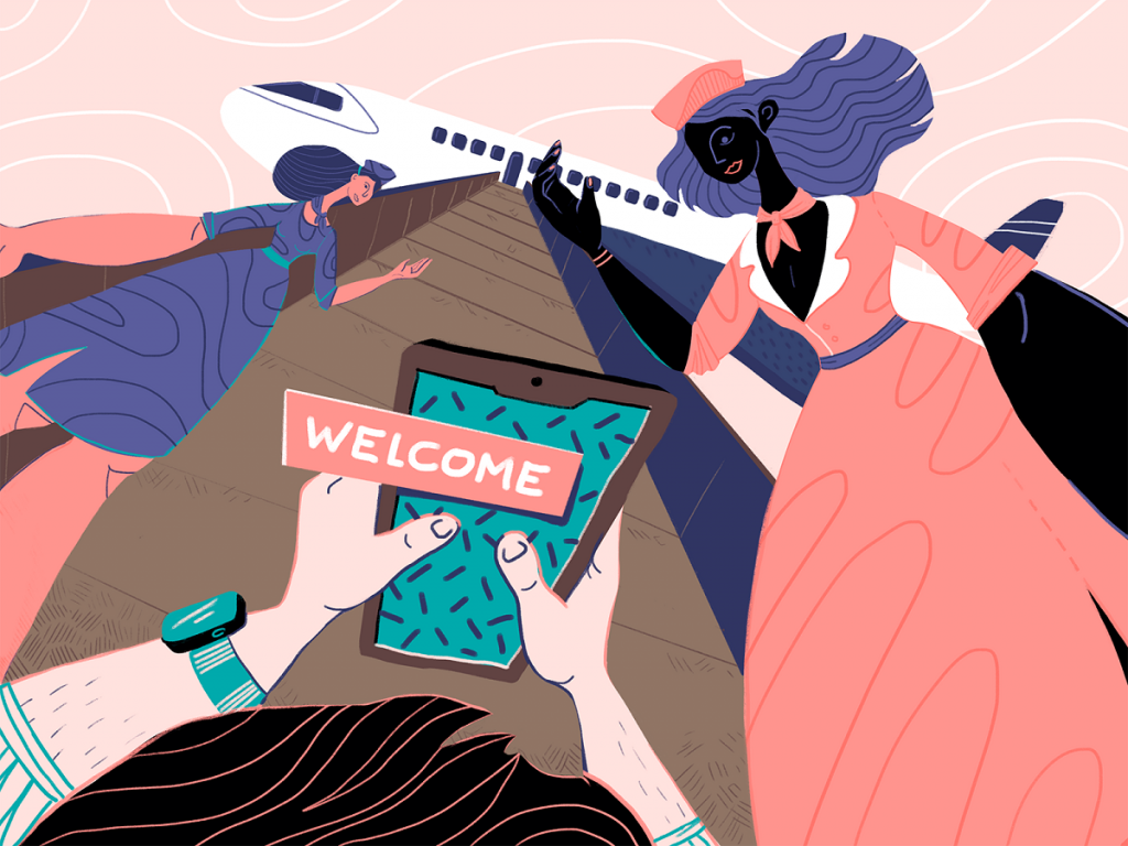 onboarding ux design illustration tubik