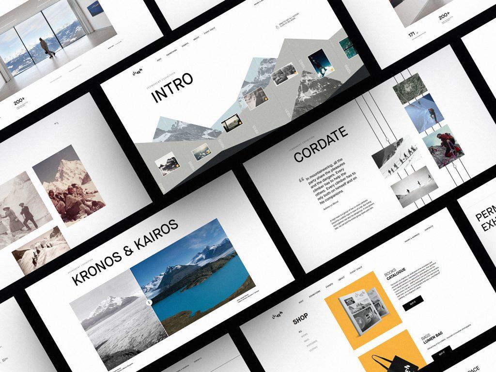 lumen museum website design case study