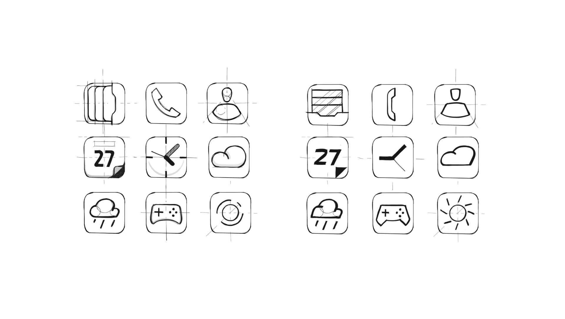 HUAWEI_EMUI_icons_tubik design sketches
