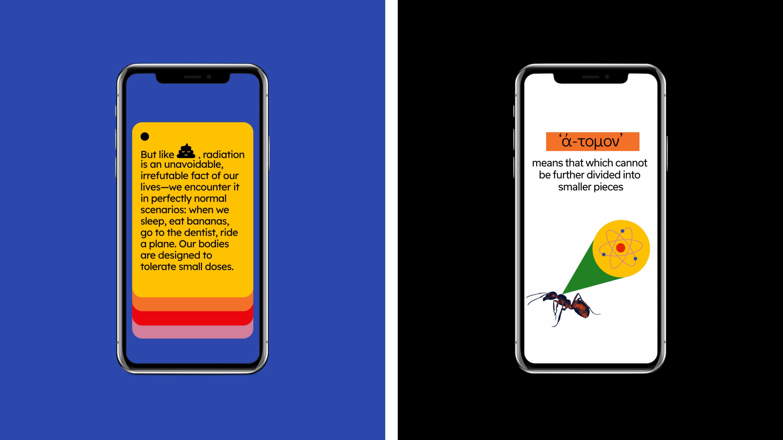illuminating radioactivity mobile version screens