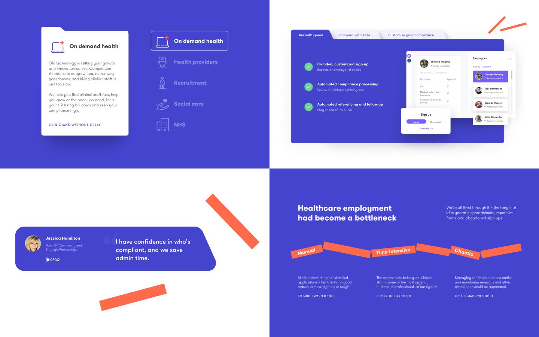 branding elements credentially website design