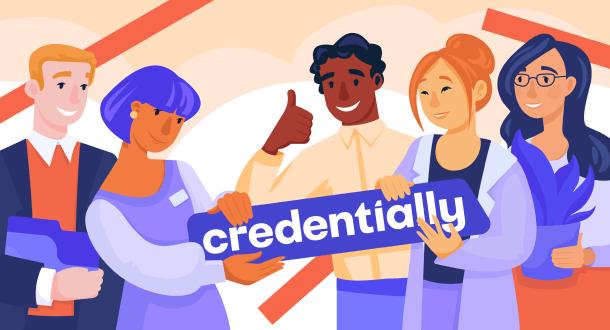 illustration 2 credentially website design
