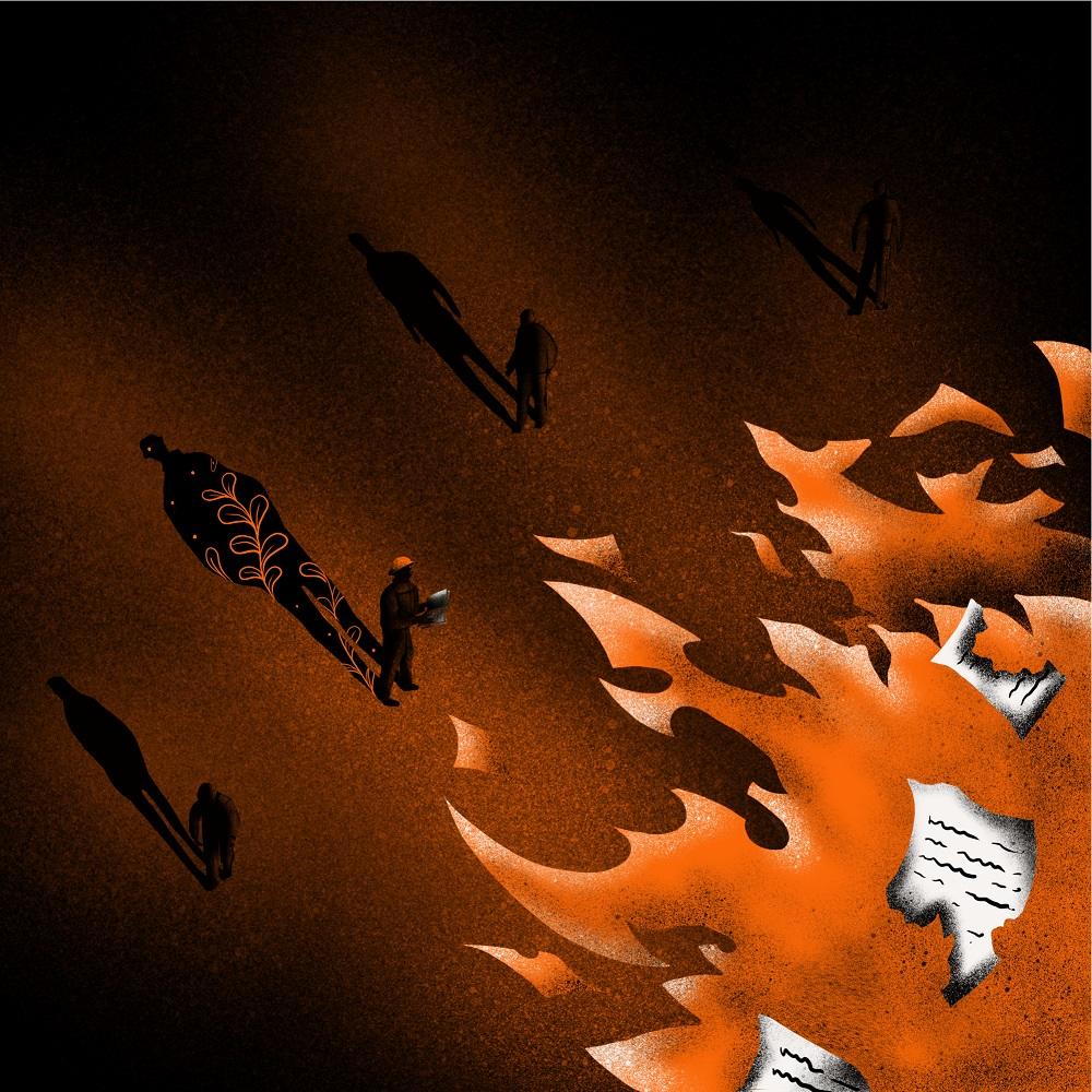 bradbury book cover design