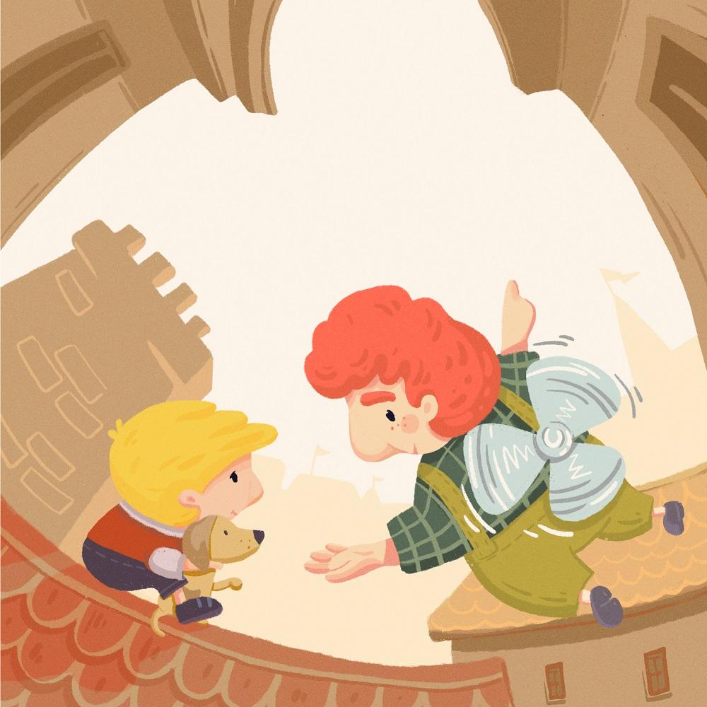 karlsson book cover illustration