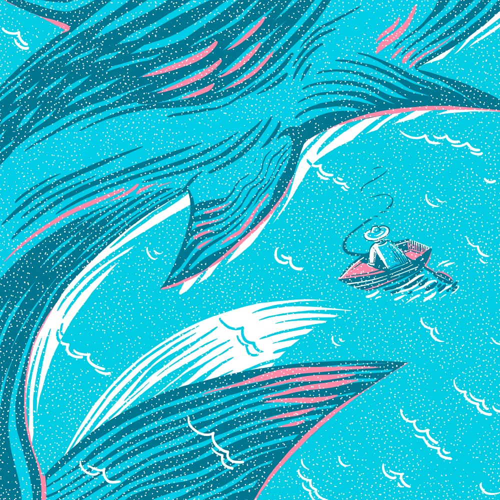 hemingway book cover design