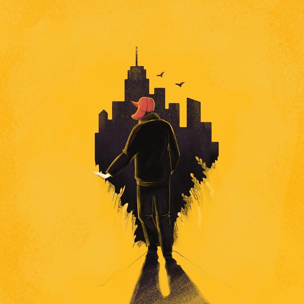 sallinger illustration book cover