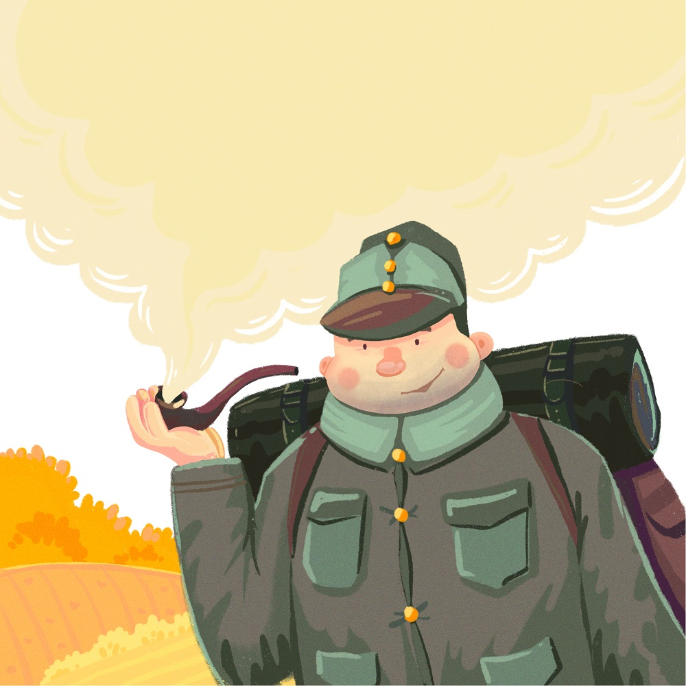 schweik book cover illustration