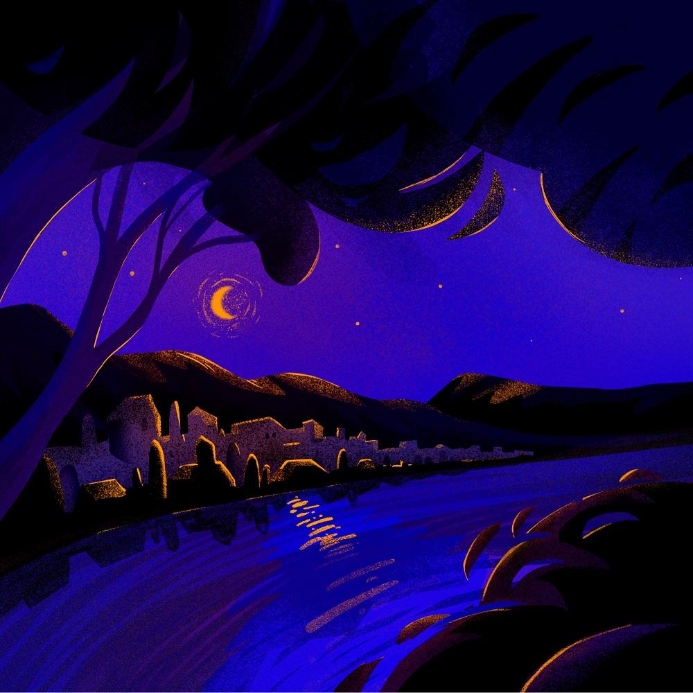 tender night book illustration