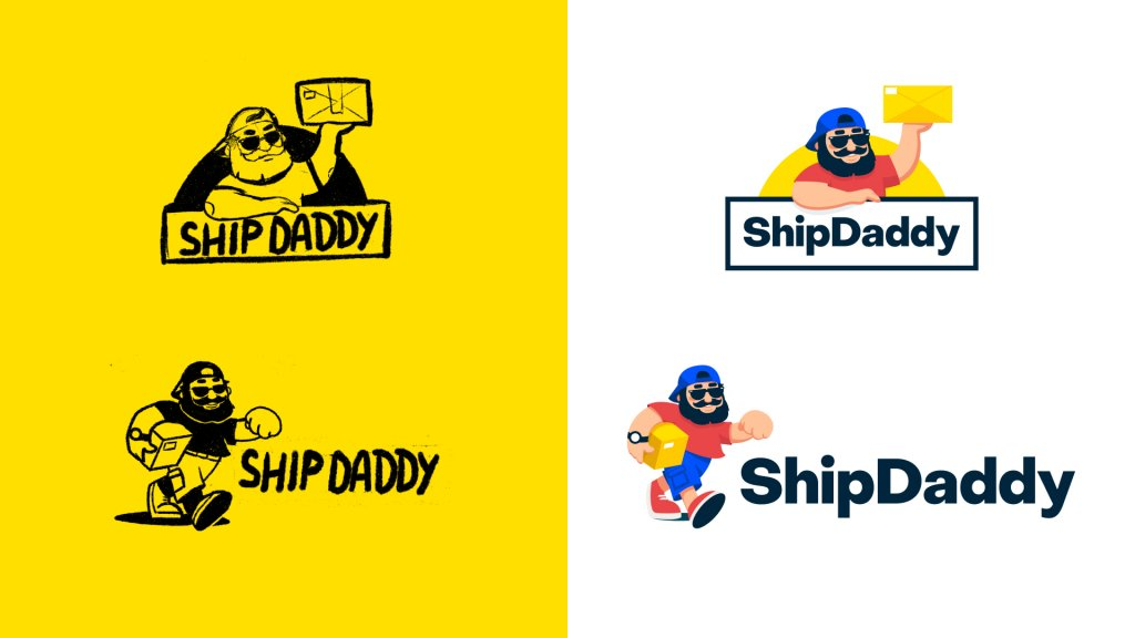 Logo design shipdaddy