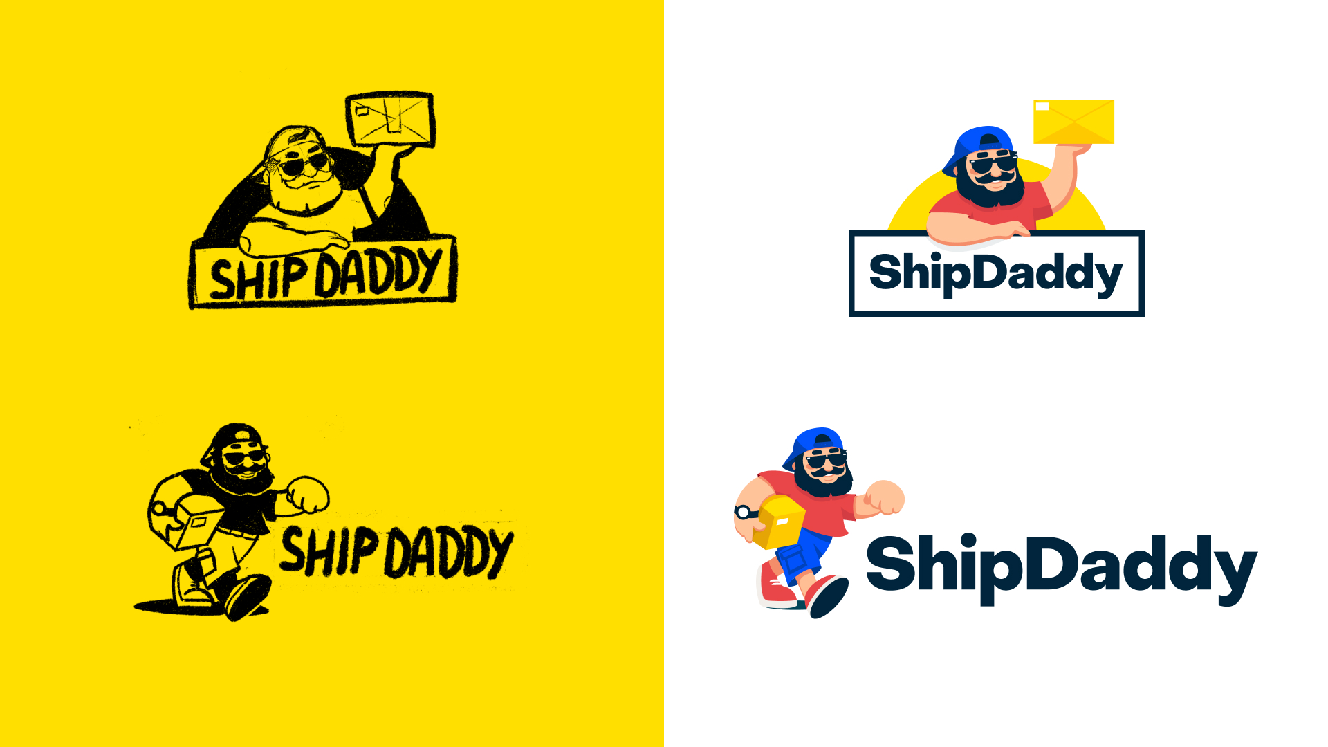 Logo design shipdaddy