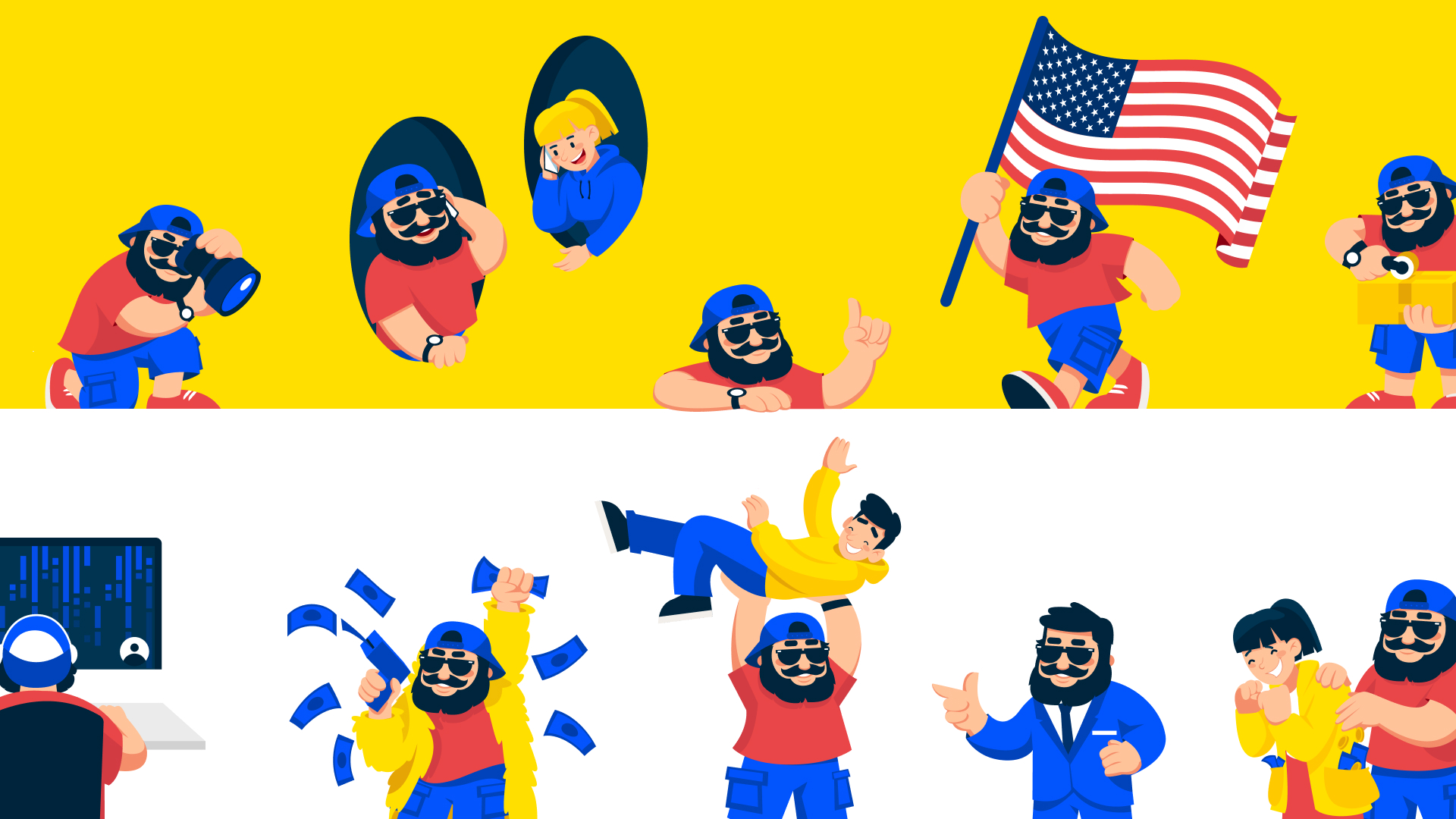 Shipdaddy design mascots