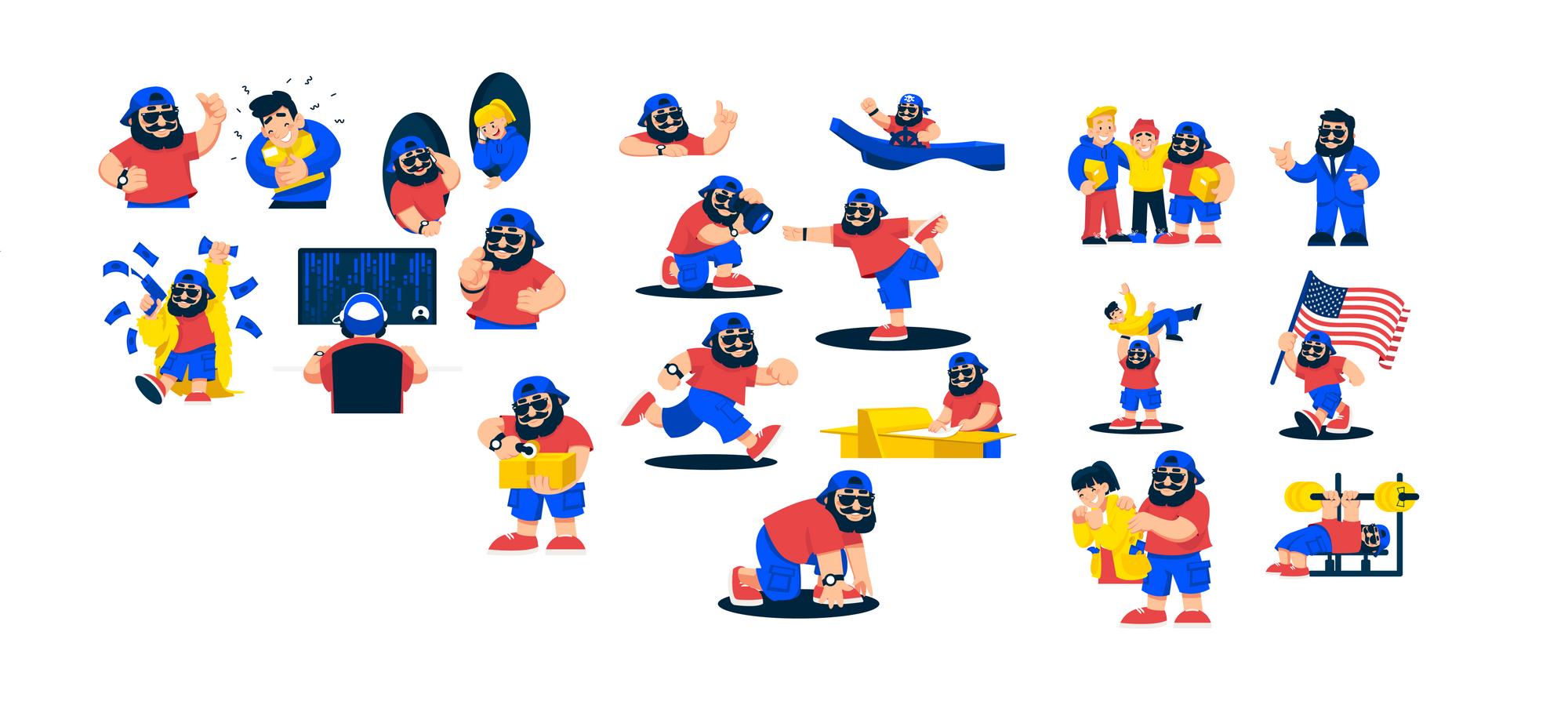 shipdaddy mascot designs