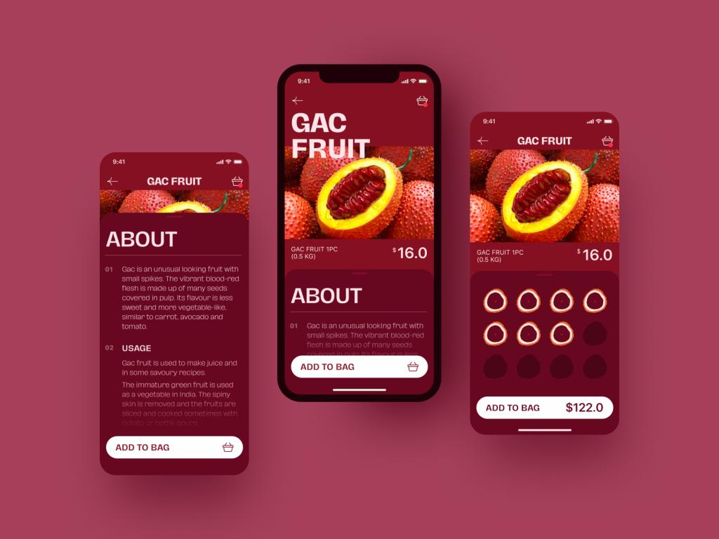 exotic fruit app