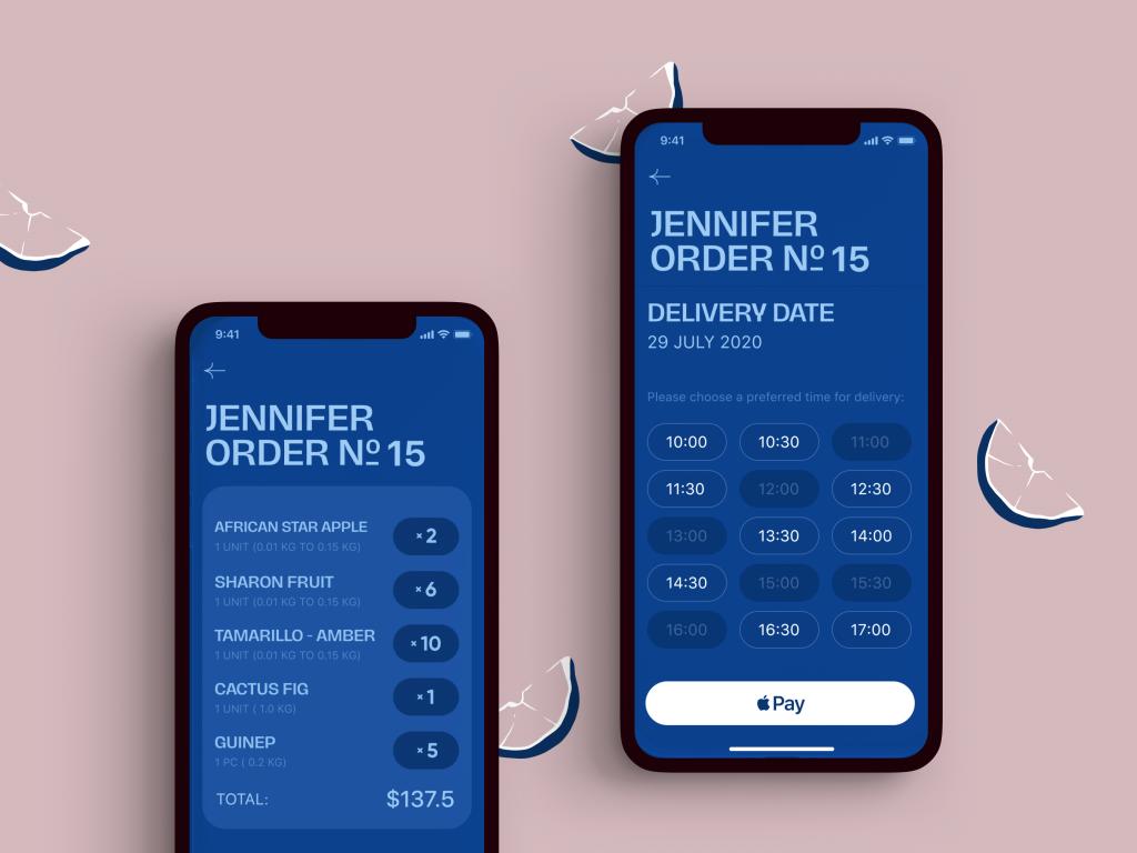 ecommerce app checkout screens tubik studio