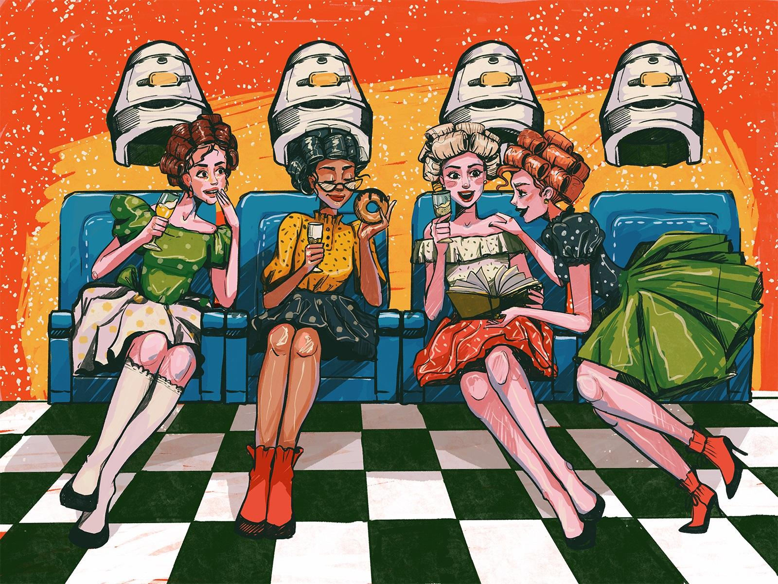 party girls tubik arts