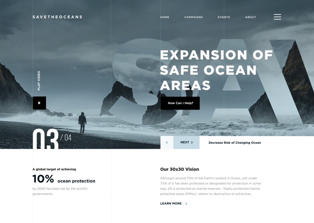 save the oceans website