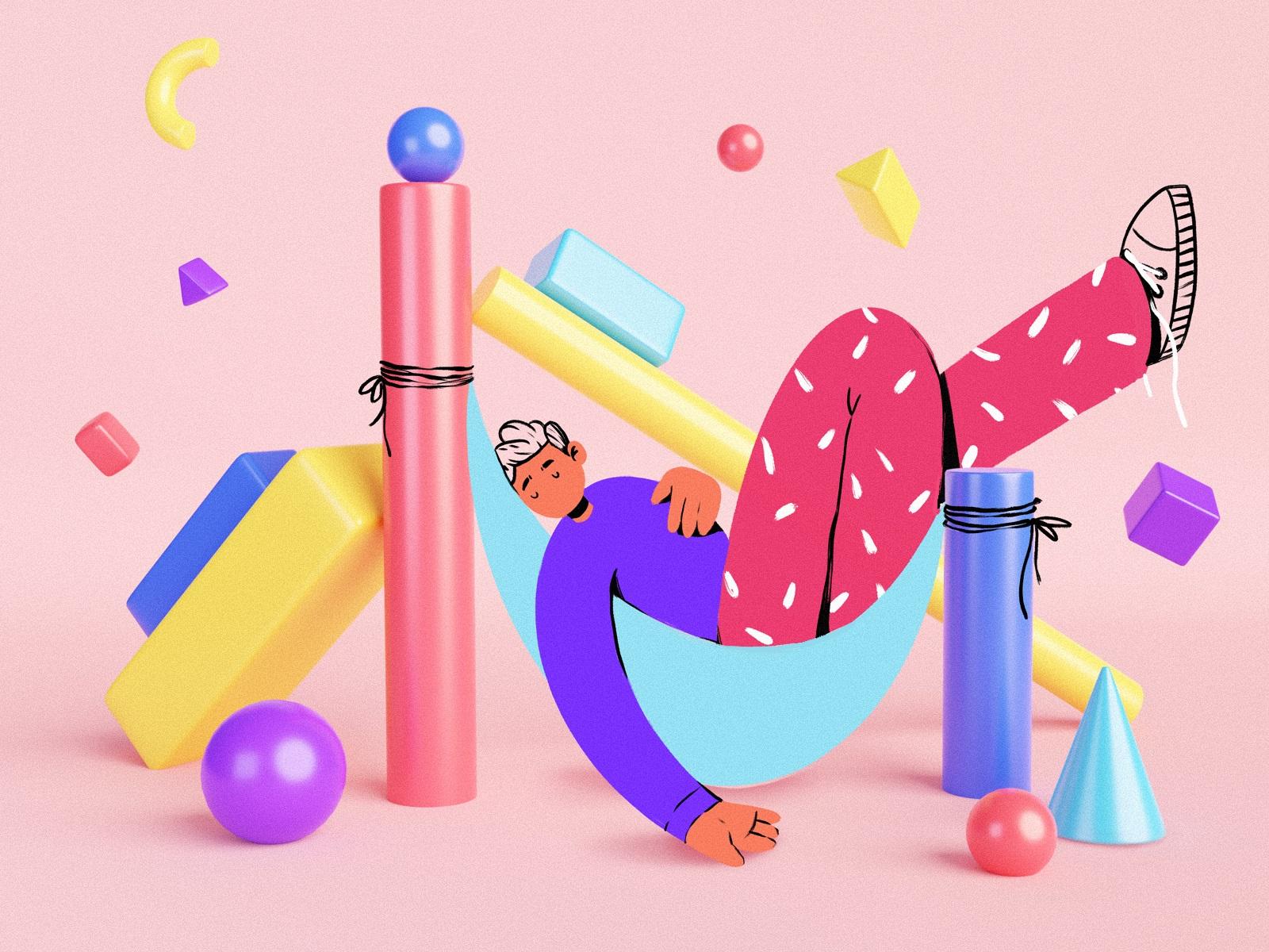 creative pause illustration tubikarts