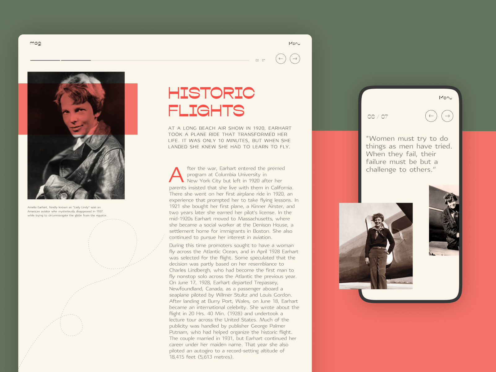powerful women stories website tubik studio