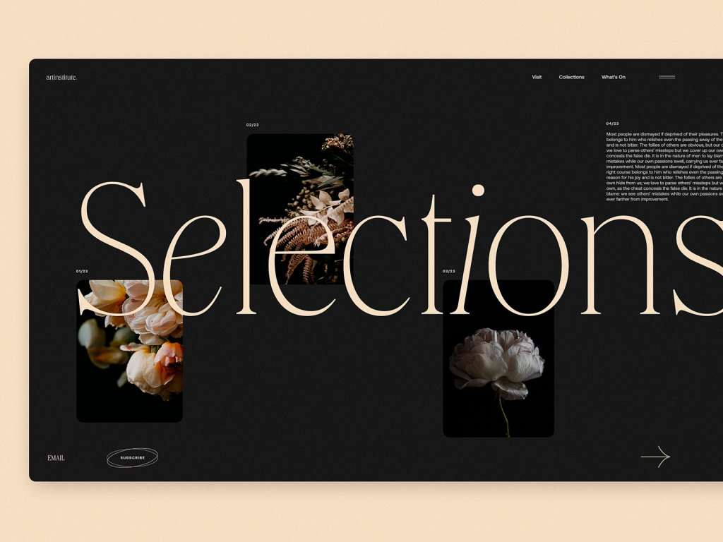 art institute blog design