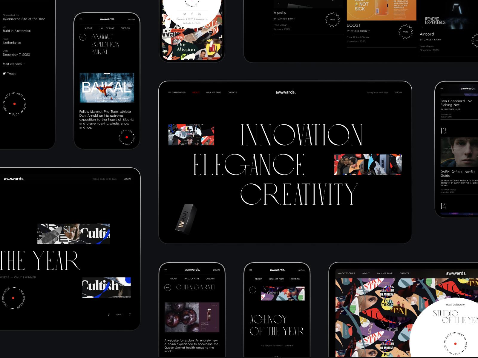 awwwards annual website design