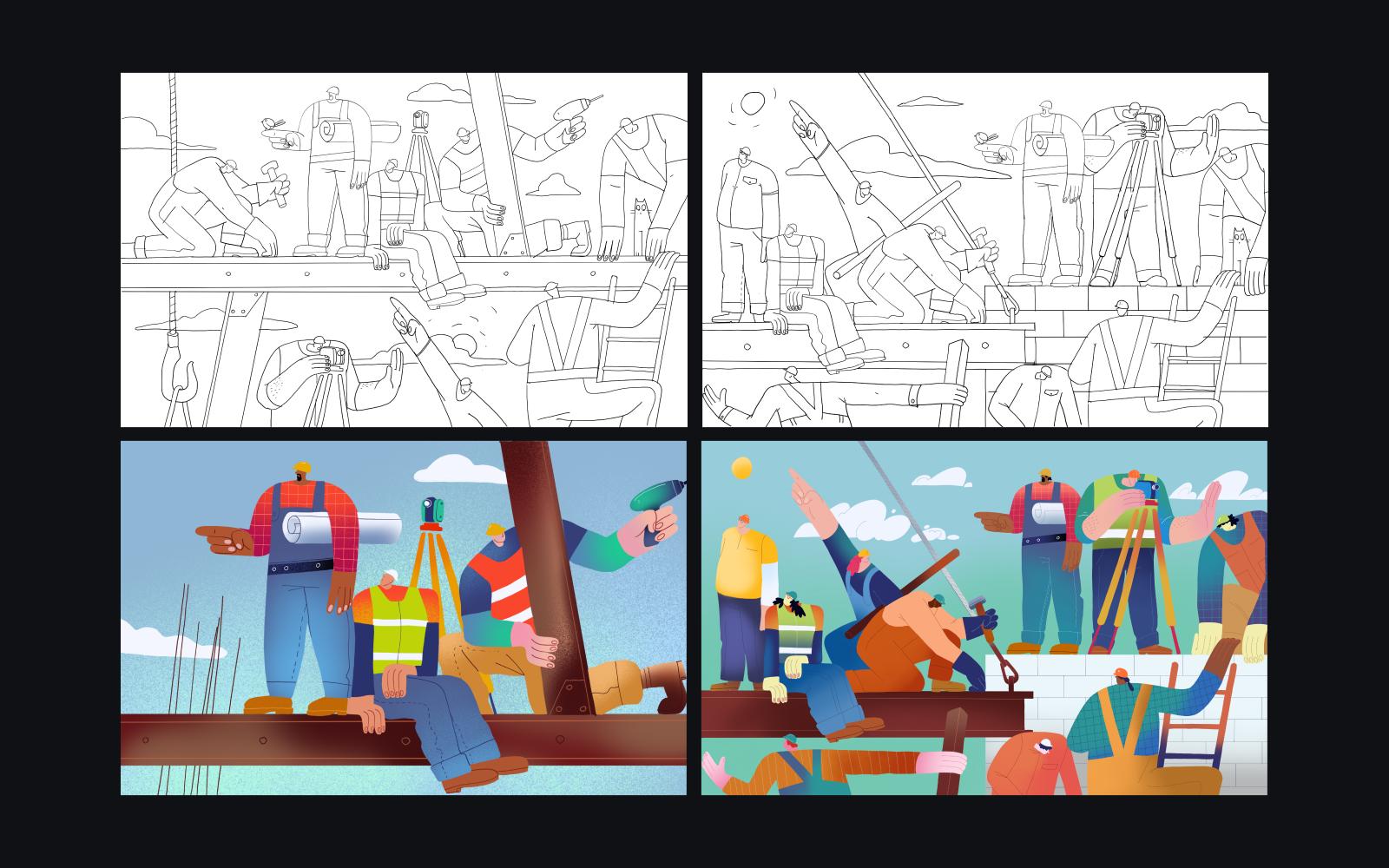 awwwards website illustration exploration 2