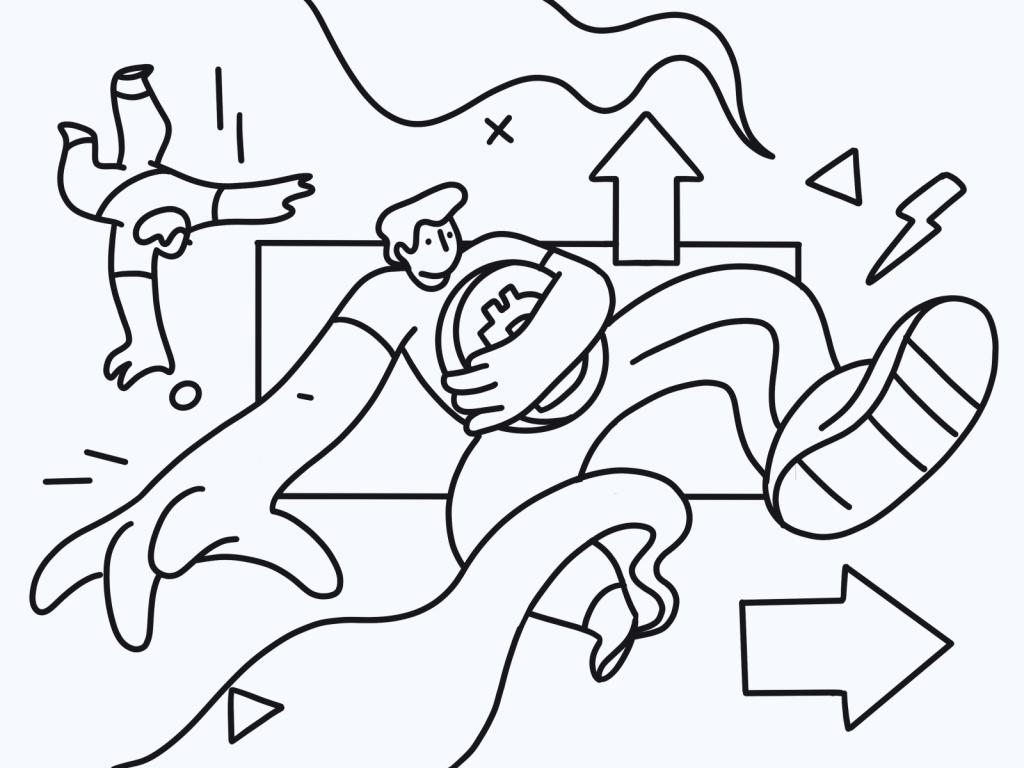 crypto world illustration