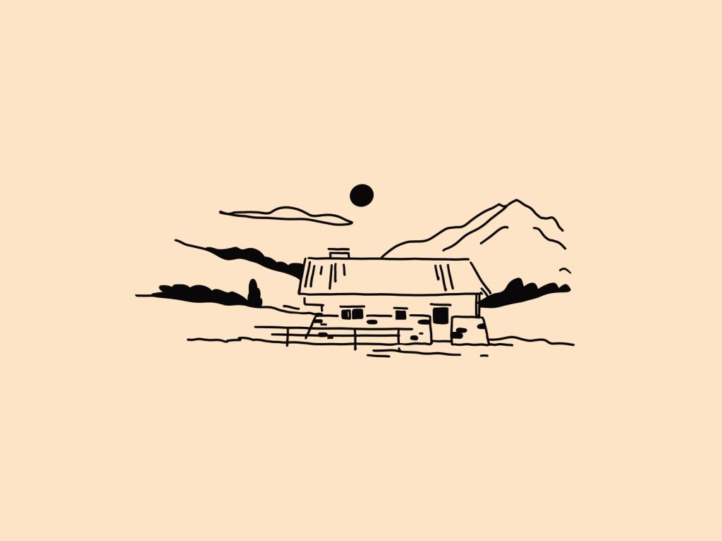 cheesemaker farm illustration