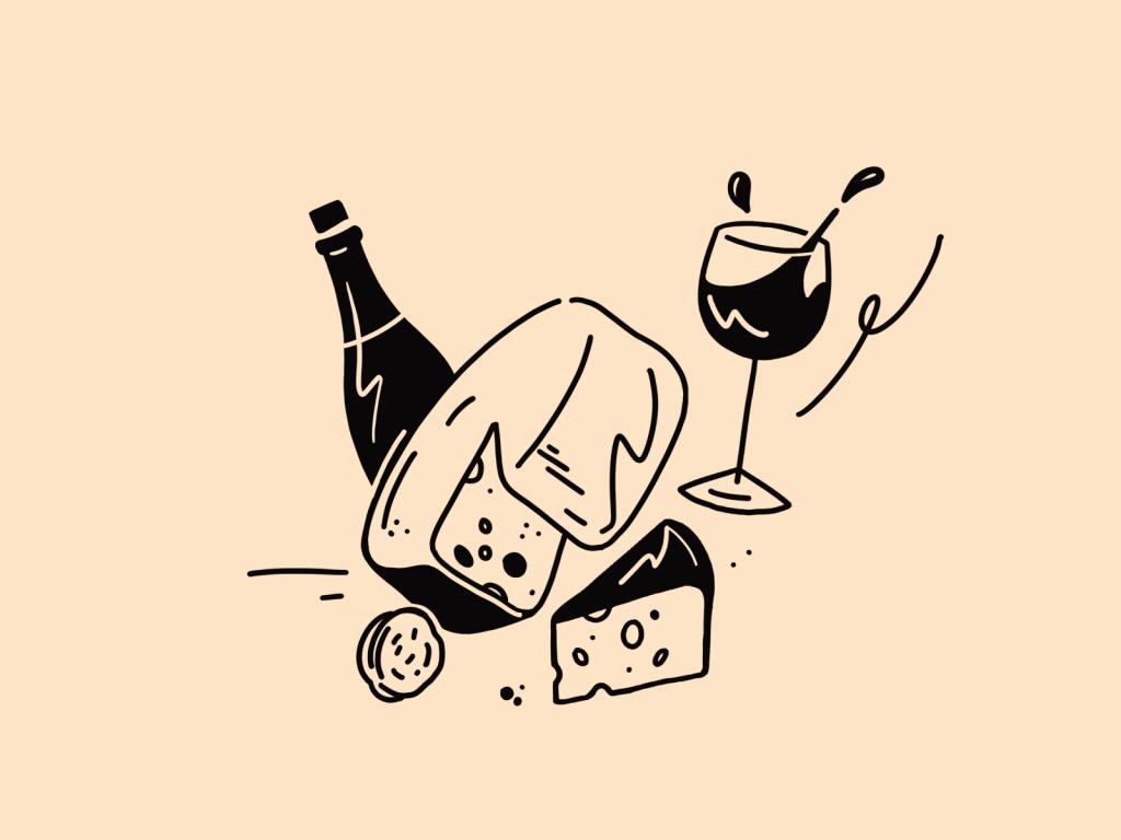 cheesemaker illustration